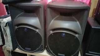Mackie SRM 450 active Speakers
