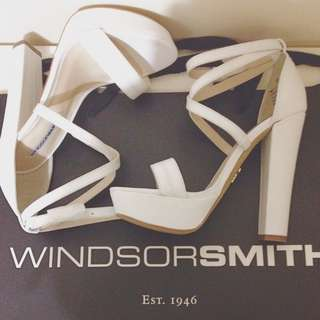 WORN WINDSOR SMITH PLATFORM HEELS