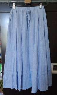 🚚 直條紋小清新長裙