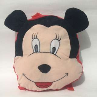 Tas boneka ransel mini mickey mouse/tas anak pg/tas anak perempuan
