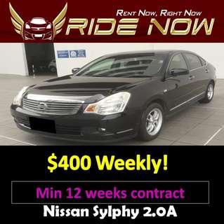 Nissan Slyphy 2.0A Long Term Car Rental