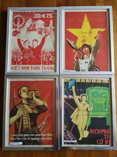 Vietnam war propaganda posters