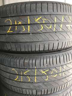 Tayar Second 215/50/17 Michelin Primacy 3st 2pcs