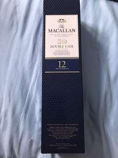 麥卡倫 Macallan 12 years double cask old version
