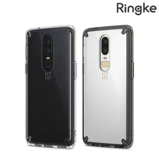 OnePlus 6 Ringke by Rearth Fusion 軟邊透明硬底殼 手機保護套Case 0882A
