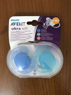🚚 🆕Avent Pacifier 6-18m