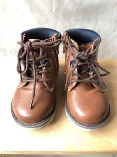 Primark Kids Brown High Ankle Boots
