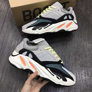 100%Original Real Boost Adidas Yeezy Wave running 700