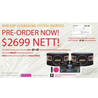 BMB CSV-480 SOUND SYSTEM PACKAGE (ONLINE PROMO!)