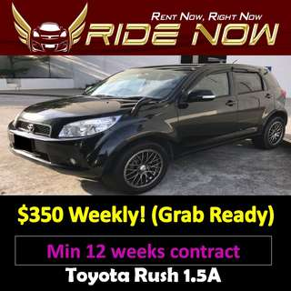 Toyota Rush 1.5A Long Term Car Rental