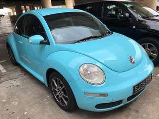 Volkswagen beetles 1.6A 2008