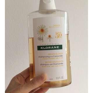 Klorane blonde hair 400 ml chamomile shampoo