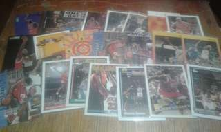 NBA CARDS (Jordan, Pippen and Rodman)