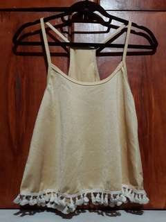 Halter Top with Tussels