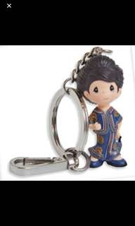 SIA girl keychain brand new precious moment