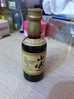 Yamazaki 山崎12年單一麥芽威士忌 50ml