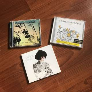Old CDs—Kimbra, Foster the People, Radio Room