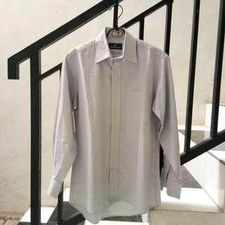 #maudecay Men's Club blue white stripes blouse