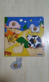 DJECO Wooden Puzzle