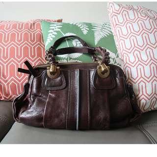 Chloe Heloise Leather Handbag(Vintage Style)