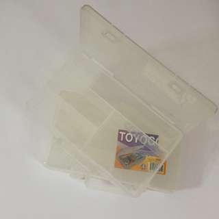 Toyogo Mini Parts Case Storage Organizer Set of 2
