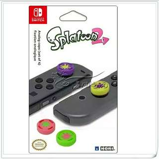 Nintendo Switch - Splatoon 2 Joy-Con Thumb Grips Cover - (P.O)