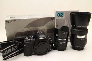 MURAH ...Olympus E-410 body+lensa kit 14-42mm + lensa 40-150mm