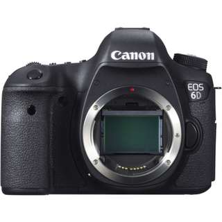 New Canon EOS 6D Body (1+2 Years Canon Malaysia Warranty)