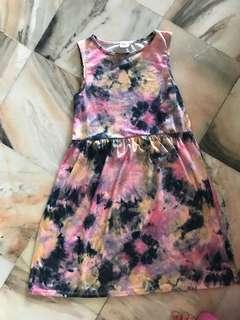 ASOS painting print dress