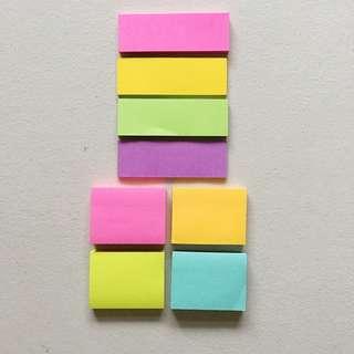SET: POST-IT Sticky Notes