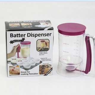 GV Cake Batter Dispenser With Measuring Label