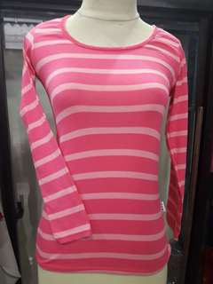 Pink long sleeved t-shirt