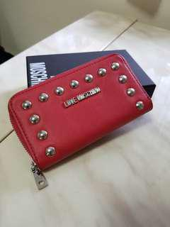 love moschino wallet 中長銀包