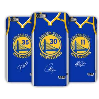 NBA 2018 Golden State Warriors 金州勇士手機殼 (Blue)