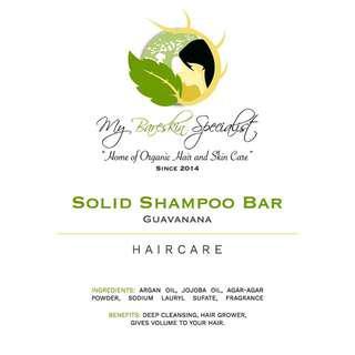 Guava Solid Shampoo Bar