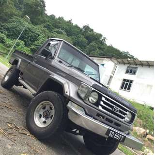 TOYOTA LAND CRUISER HZJ75 4.2 COLLECTOR ITEM FOR SALE!!
