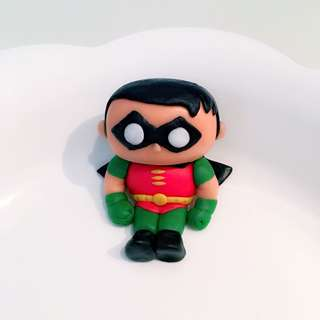 Customized robin cake or cupcake fondant topper