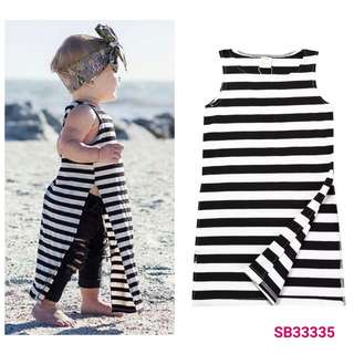 Stripes dress (wechat : Strawmint)