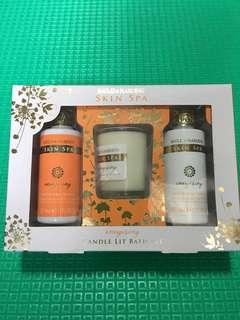 Baylis & Harding Skin Spa Energising Candle Lit Bath Set