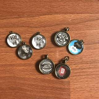 Bands/Movies/TV Show Pendants