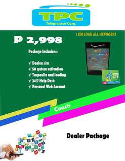 E-LOADING BUSINESS/ 1 SIM LOAD ALL NETWORKS P2998