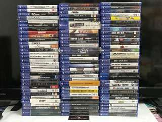 ^^ ALL BRAND NEW & SEAL PS4 GAMES ^^
