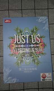 Just us JYJ second Album