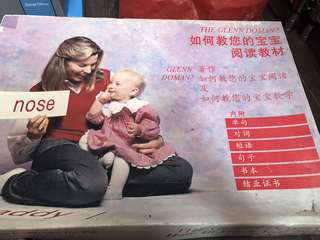 Glenn Doman Flash Cards English Chinese Maths