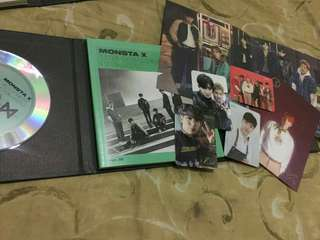 Monsta x album Pre-loved