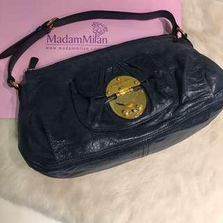 cd192bfff5b1 Miu Miu Glaze Blue Shoulder Bag