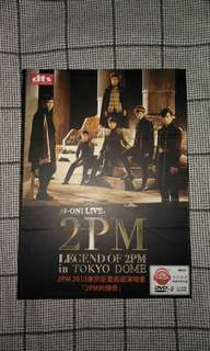 Live 2pm ,  legend of 2pm in tokyo dome