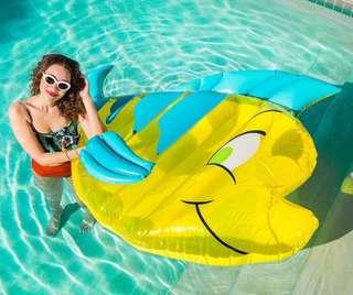 🚚 🐠季節限定🐠 太~可~愛~了~✨ Disney小比目魚充氣床