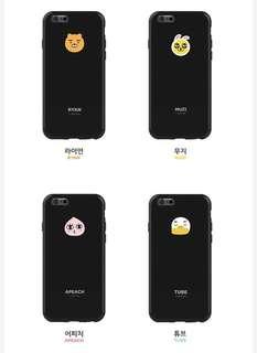 Kakao friends Ryan Apeach Neo Tube iPhone Case