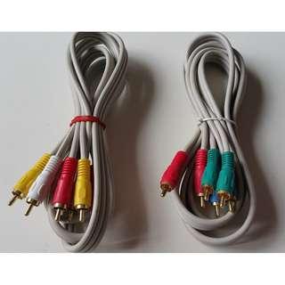 Video appliances cables